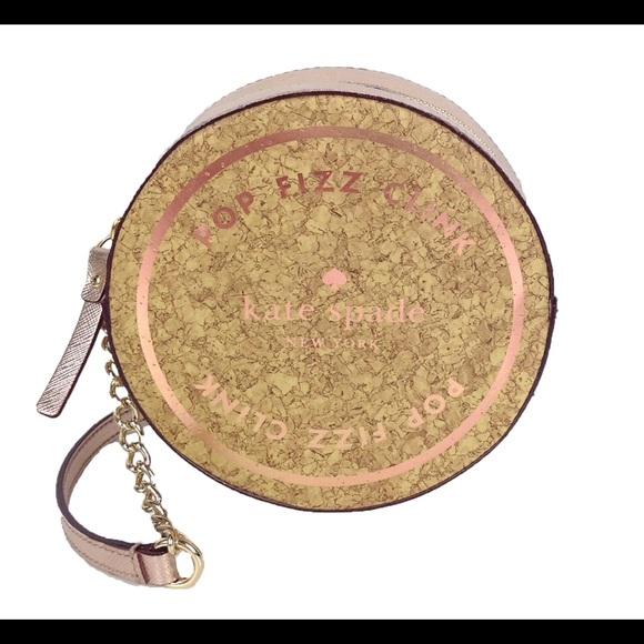 2145f00b16d90a Bags | Kate Spade Pop Fizz Clink Cork Bag | Poshmark
